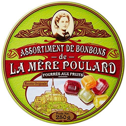 Biscuiterie Mère Poulard de Bonbons Fourrés au Fruits Coffret Collector de 250 g