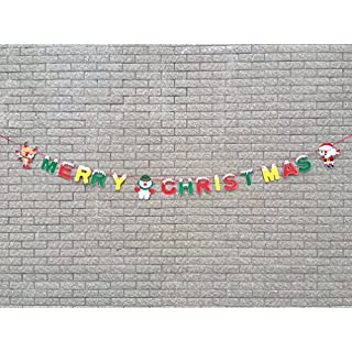 Aixin Merry Christmas Decoration Banner - colourful Christmas Party Decorations Picks Suppliers Party Accessories for Christmas Party Supplies