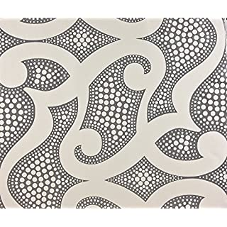 Dutch Wallcoverings 7264-0 Wallpaper Oriental White