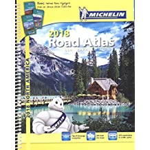 USA Canada Mexico Atlas 2018 (Michelin North America Road Atlas)