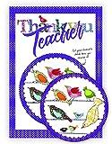 Thank You Teacher Karte und Coaster–Geschenk und Karte in Einem–Die perfekte Art zu sagen Thank You To A Special Teacher