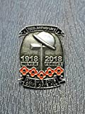 Limited Edition 1918-2018 100th Anniversary First World War Lone Soldier Veterans Red Poppy Enamel Pin Badge Brooch