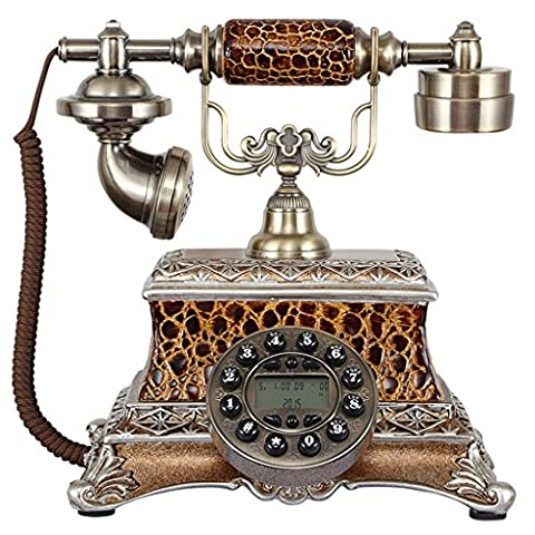 CHENGYI Europäische Art-Art- und Weisekreative Retro Telefon-Innenministerium Festnetz