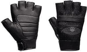 Harley Davidson Winged Skull Fingerless Handschuhe 98277 14vm L Auto
