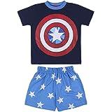 CERDÁ LIFE'S LITTLE MOMENTS Niños Pijama del Capitán América Color Azul-Licencia Oficial Marvel