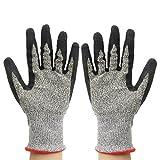 Arbeitshandschuhe Anti Schneide Edelstahl-Drahtgewebe Handschuhe S