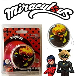 yo-yo luminoso Gato Negro LADYBUG MIRACULOUS