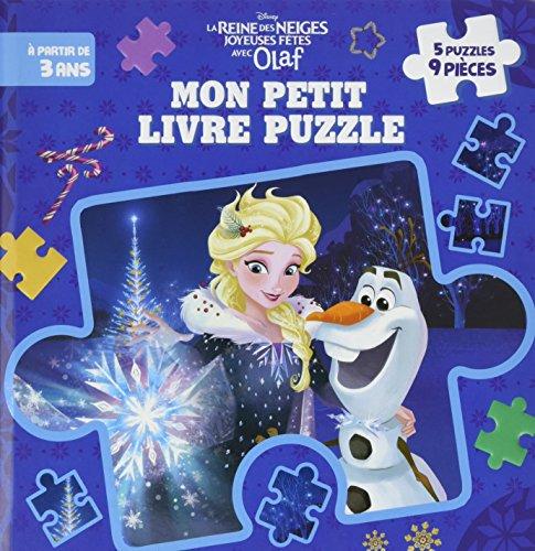 REINE DES NEIGES - Mes Premiers Puzzles 9 pices - Joyeuses ftes avec Olaf