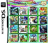 CMLegend 208 in 1 Gioco su Grande Scala - Compilations Video Game DS Cartridge Card - Modello Compatibile Nintendo Dual Screen, Nintendo 3DS - Scheda Console Videogioco DS Cartucce - Inglese