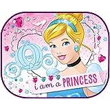 Disney 2 Rideaux Pare-Soleil Princesse Rose