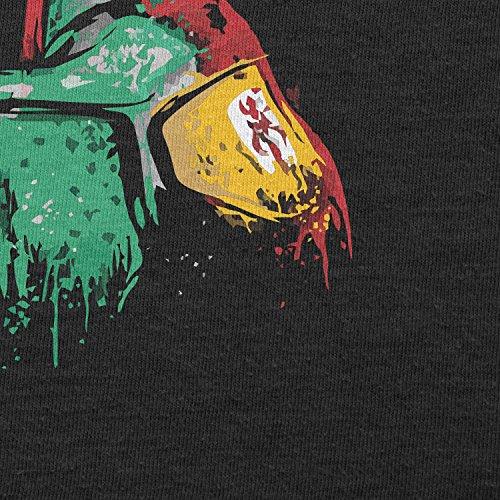 Texlab–Boba Splash Painting–sacchetto di stoffa Nero