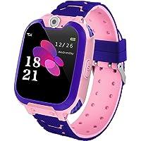 Hangang Orologio per bambini smartwatch, con 7 giochi, funzione musica e sveglia, fotocamera, per 3 – 12 anni