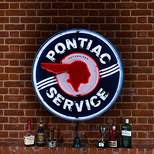 large-pontiac-service-neon-sign-in-metal-can-240v-3-prong-uk