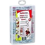 fischer 544399 caja de tornillos y tacos, Rojo