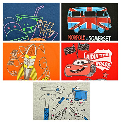 Kuchipoo-Unisex-Full-Sleeves-Kids-T-Shirt-Pack-of-5