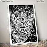 LaMAGLIERIA Poster Haute qualité - Lou Reed - sur Papier Photo Brillant - Formato, 30cmx40cm