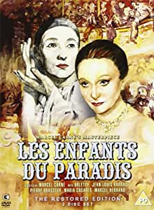 Les Enfants Du Paradis - The Restored Edition (2 discs, limited edition packaging) [DVD] [1945]