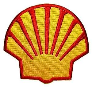 Shell gas station Öl Erdöl F1 Hemden Logo zum Aufbügeln von Wonder Fullmoon