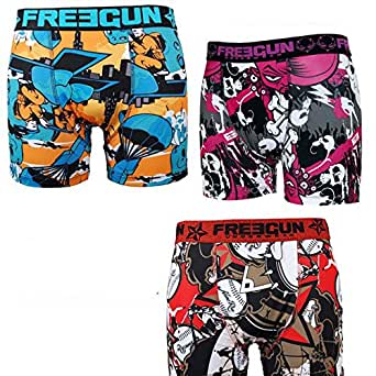 FREEGUN Pack surprise boxer homme - Small