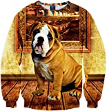 Pizoff Unisex Hip Hop sweatshirts with 3D printing Digital Pattern