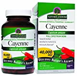 Nature's Answer Cayenne Pepper Fruit 90 Vegcaps by Nature's Answer