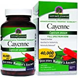 Nature's Answer, Cayenne, fruit poivres, 90 capsules vegetales