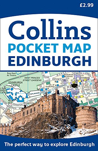 Edinburgh Pocket Map: The perfect way to explore Edinburgh (Maps) por Collins Maps