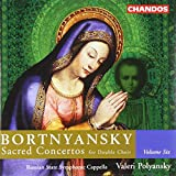 Bortniansky : Sacred Concertos for Double Choir, Volume 6