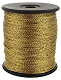 #9: Ishika Stringing Zari Threads Gold thread for jewellery making/ wrapping/ crafts