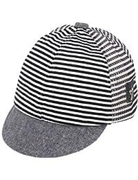 3e8941e831ce5 Chinatera Baby Boy s Gilrs Stripped Baseball Cap Soft Cotton Sun Protection  Hat