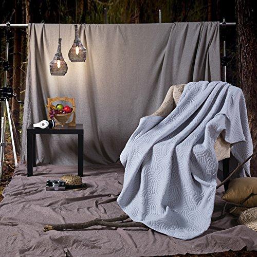 BDUK L'Émulation Cashmere épais Couverture Raschel étudiants chaudes couvertures Couvertures, augmentation Double sect. C) 200X220CM