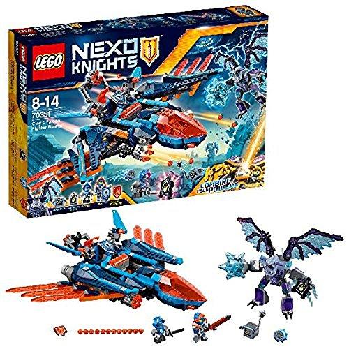 LEGO Nexo Knights - Halcón-Bláster Combate Clay