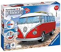 Ravensburger - 12516 - Puzzle - 3D - 162 Pièces - Volkswagen Combi T1