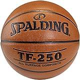 SPALDING - TF250 IN/OUT SZ.5 (74-537Z) - Ballons de basket NBA - Touché et Contrôle améliorés - Matière Durable - orange