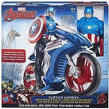 Hasbro Avengers B5776, Titan Heros Serie, Personaggio con veicolo, 30cm, Modelli assortiti, 1 pezzo