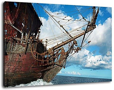 Avatar Format 120x80 cm Bild auf Leinwand, XXL riesige Bilder fertig gerahmt mit Keilrahmen, Kunstdruck auf Wandbild mit
