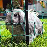 Kerbl 292216 Kaninnät, Grön 25 m x 65 cm