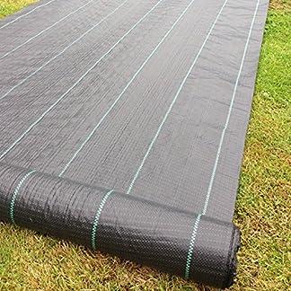 Cubierta de suelo para control de malas hierbas, 3m x 100, de la marca Yuzet