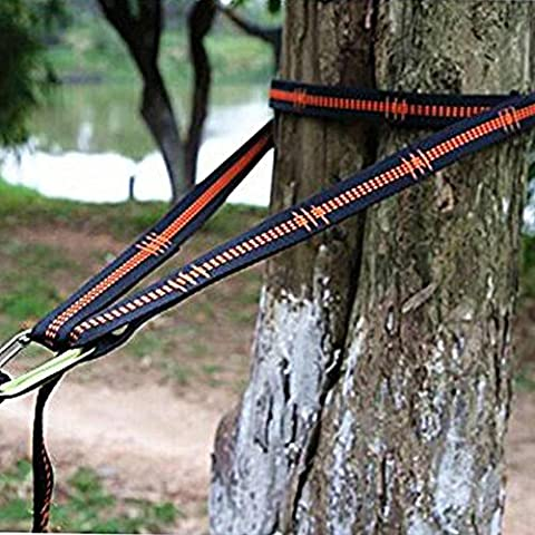 Jarvan Practical Hammock Straps adjustable Tree Hanging Heavy Extension suspension Item size: 270 *