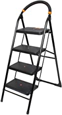 Ciplaplast GEC-L4M 4 Step Milano Folding Ladder (Black)