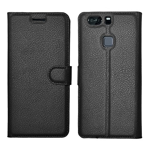 IVSO Huawei P9 Plus Cover - Slim Armor Cover Custodia per Huawei P9 Plus Smartphone (Smart Armor Series - Nero)