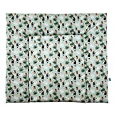 Lounge de zona wickeld esquina toekan, 100% algodón, 84x 76cm, multicolor 14609