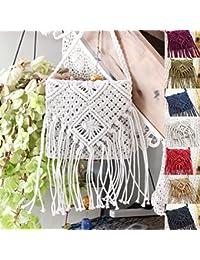 Amazon.es: bolsos de crochet: Zapatos y complementos