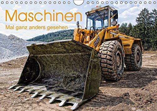 Maschinen - Mal anders gesehen (Wandkalender 2018 DIN A4 quer): Baumaschinen und landwirtschaftliche Geräte aus einzigartiger Sicht und ... 14 Seiten ... [Kalender] [Apr 01, 2017] Niederkofler, Georg
