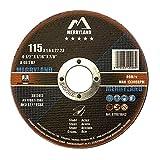 Merryland 115 X 1,6 Esperto-line Dischi da Taglio Acciaio Ferro Metallo 25PCS