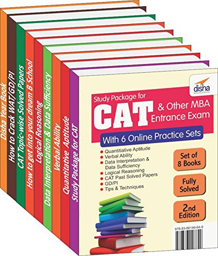 Study Package for CAT & other MBA Entrance Exams with 6 Online...