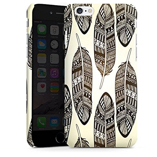 Apple iPhone 5s Housse étui coque protection Ressorts Tribal Indien Cas Premium mat