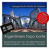 Argentina Garmin Topo 8GB microSD. topogra pesci GPS tempo libero carta per bicicletta da trekking, escursioni trekking Geocaching & Outdoor. dispositivi di navigazione, PC e Mac