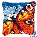 Vervaco PN-0014174 Knüpfkissen 3608 Schmetterling