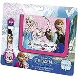 Frozen - Set Reloj digital + billetero, multicolor (Kids 894503)